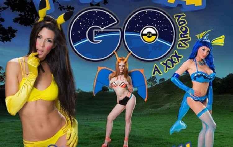 Pokémon Go PornStar Go Adolecente Faz Sexo Com 3 Cosplay De Pikachu, zubat e Charizard