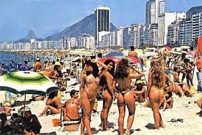 Porno Brasileiro Comendo as brasileiras na praia de copa cabana
