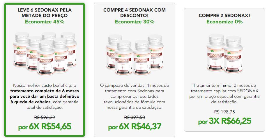 Promoção SEDONAX - Melhor Preço do Mercado, Compre Agora!