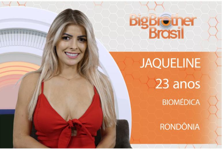 JAQUELINE NUA PELADA BBB18