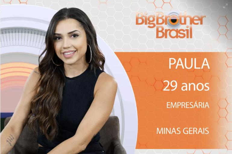 PAULA NUA BBB18