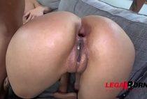 Redtub novinha Aaliyah Hadid perfeita fazendo sexo grupal violento