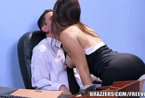 Sensual club secretárias gostosa transando no escritório
