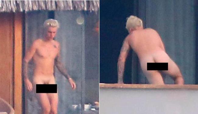 Justin Bieber pelado caiu na net sem roupa