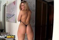 Zbporn video xxx porno loira madura da bunda grande dando o cu