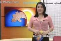 Apresentadora de Tv pelada caiu na net transando