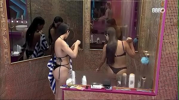 Thais Braz e Juliete Nuas peladinhas bbb21